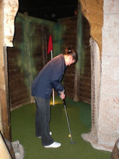 Golden Isle Indoor Adventure Golf course in Blackpool