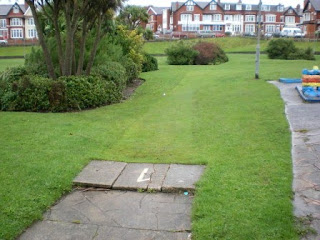 Putting course at Gynn Gardens in Blackpool