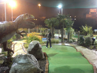 Jurassic Encounter Adventure Golf in New Malden
