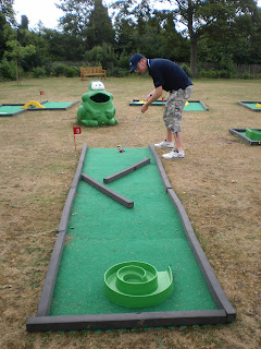 Miniature Golf in Christchurch Park, Ipswich