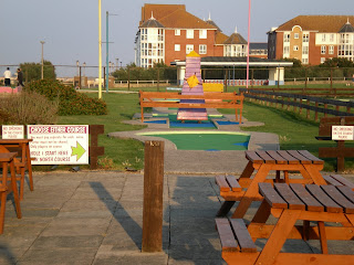 Little Oasis Crazy Golf course in Cliftonville, Margate, Kent