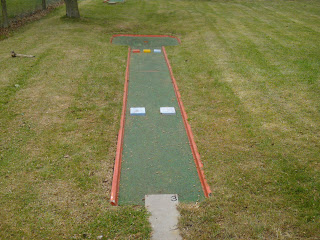 Crazy Golf course at Luton's Wardown Park