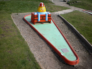 Crazy Golf in Lytham St Annes