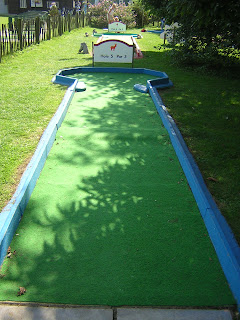 Mini Golf at Stonham Barns in Suffolk