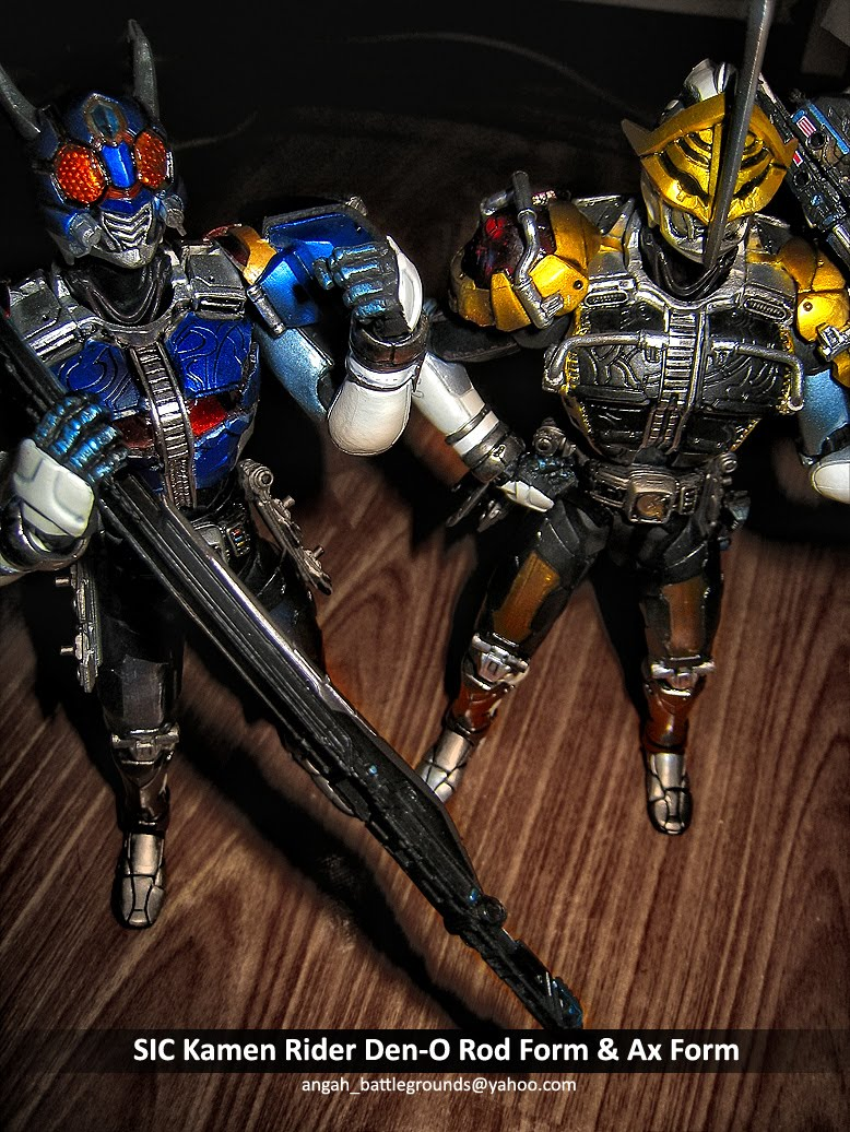 BRAIN MUSIC & MOVIE RECORDS: SIC Kamen Rider Den-O Rod ...