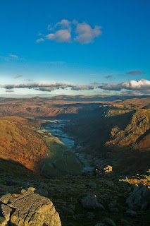 Borrowdale from Base Brown - Lake District