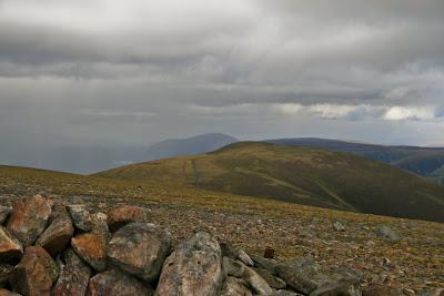 A' Mharconaich from Beinn Udlamain