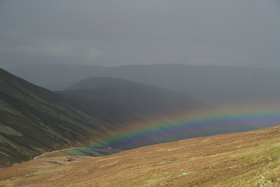 Rainbow from the side of Sgairneach Mhor