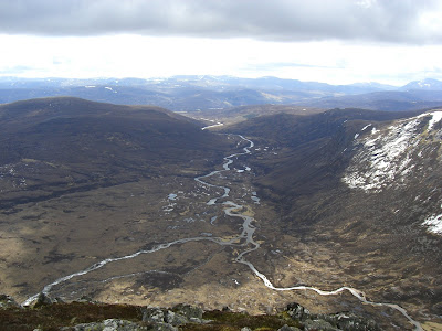 Glen Dee from Devil's Point - Highlands Walk