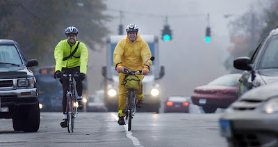 Image of bicyclists in Hartford, Connecticu
