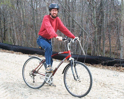 Image of bicyclist John Brooking, of Westbrook, Maine