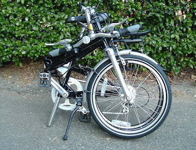 Image of Giant Halfway bicycle folded