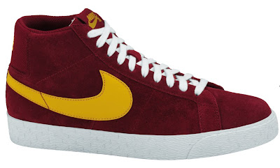 size 40 d111a e26a8 Nike SB Blazer High. USC Team Red Yellow.