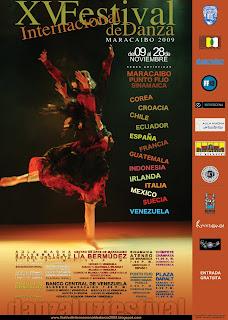 adc741976 XV FESTIVAL INTERNACIONAL DE DANZA - MARACAIBO 2009