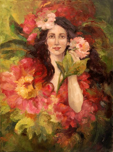 Deb Kirkeeide: Flora, Goddess of Flowers