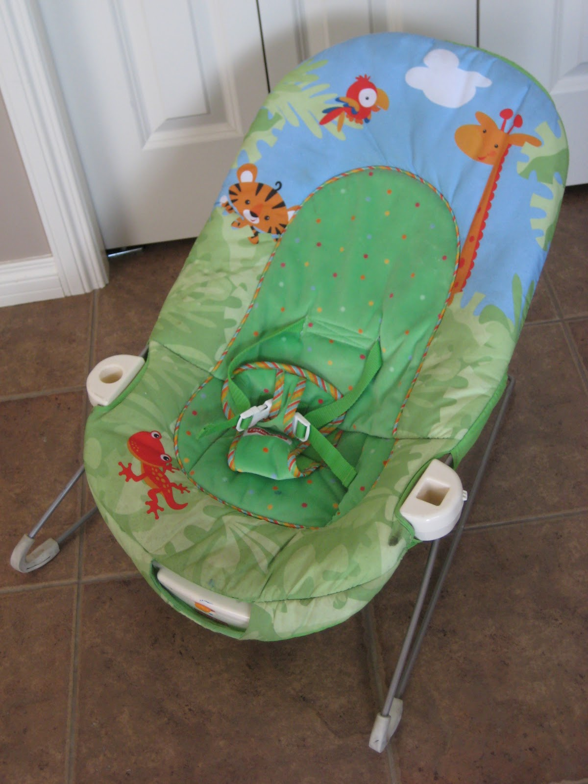 Bouncy Chair Laura Thoughts Rainforest Bouncy Chair 2 Of 3