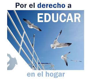 manifestación de blogs en favor del derecho a educar en el hogar