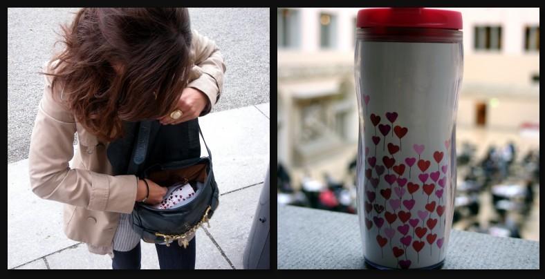Starbucks Stainless Steel Madrona Travel Tumbler Thermos Mug