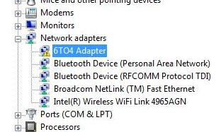 ADAPTER #4 6TO4 MICROSOFT DOWNLOAD DRIVER