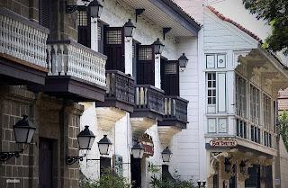 Casa Manila, near Fort Santiago, Manila Philippines