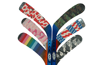 Ice Hockey Stick Colour Fan Collection