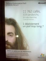 MDOP Microsoft Desktop Optimization Pack Ad in Paris