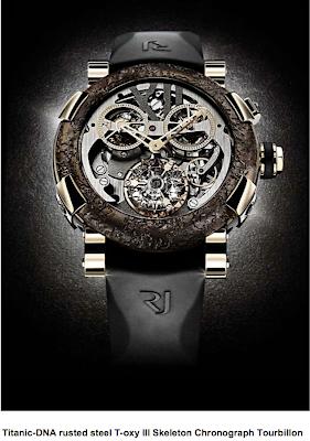 Romain Jerome Titanic Rusted Steel Watch
