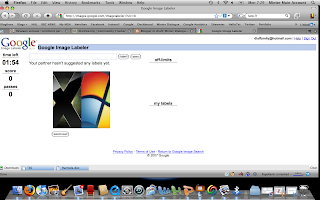 Google Image Labeler Game Screen Shot