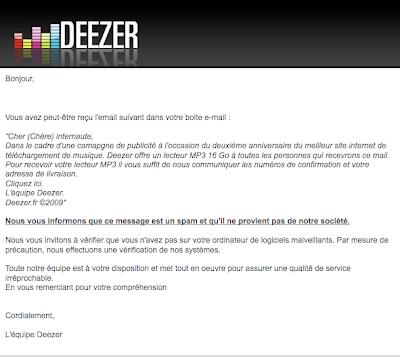 Deezer Radio FM Screen Capture