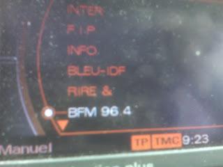 BFM Radio in Car