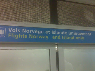 CDG Airport Error on Signpost: Island instead of Iceland