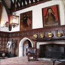 Great Hall at Ightham Mote, Kent England