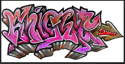 Art Graffiti Popular Draw Graffiti On Paper
