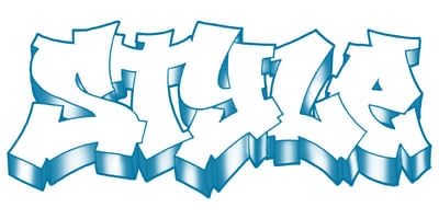 Printable New Graffiti Alphabet Style New Graffiti Art