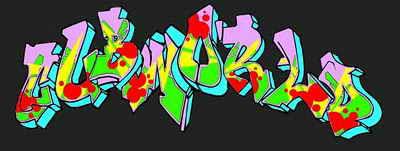 arsaroceu: Graffiti Generator - 3D Graffiti Alphabet