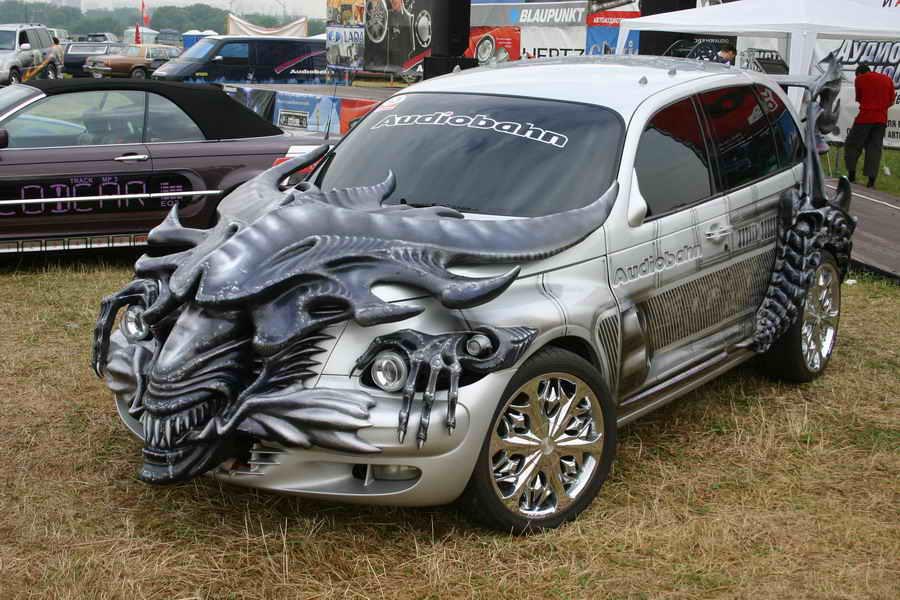Custom cars dragon car dragon cars lightning mcqueen dragons
