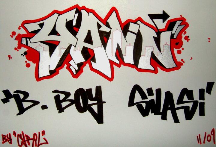 Write My Name Graffiti