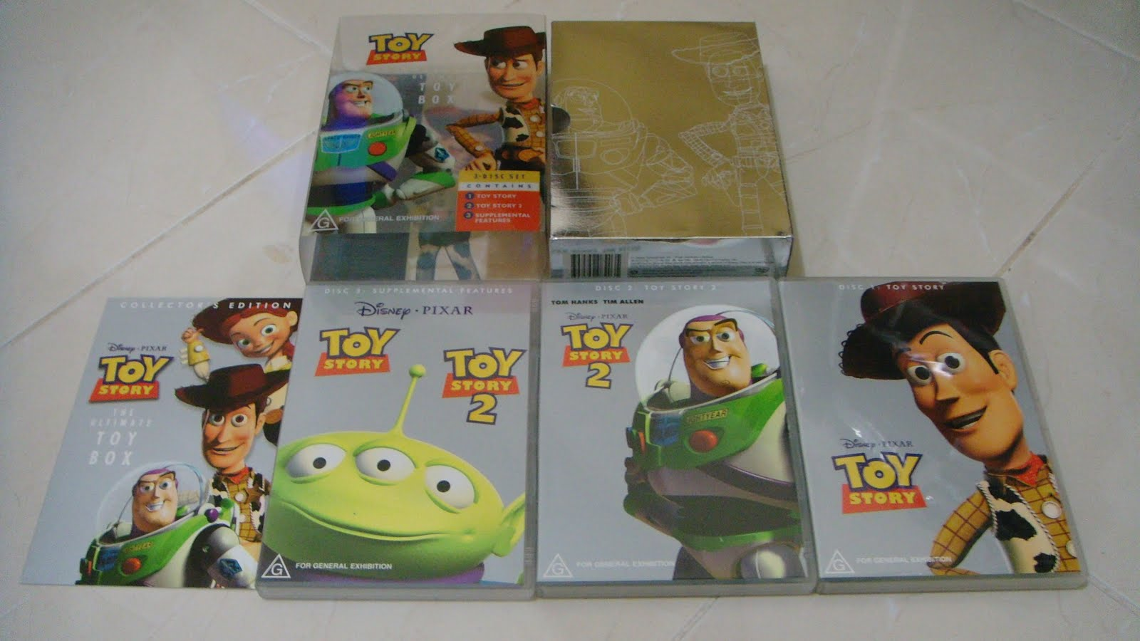 Dvdaseli Toy Story The Ultimate Toy Box Region 4