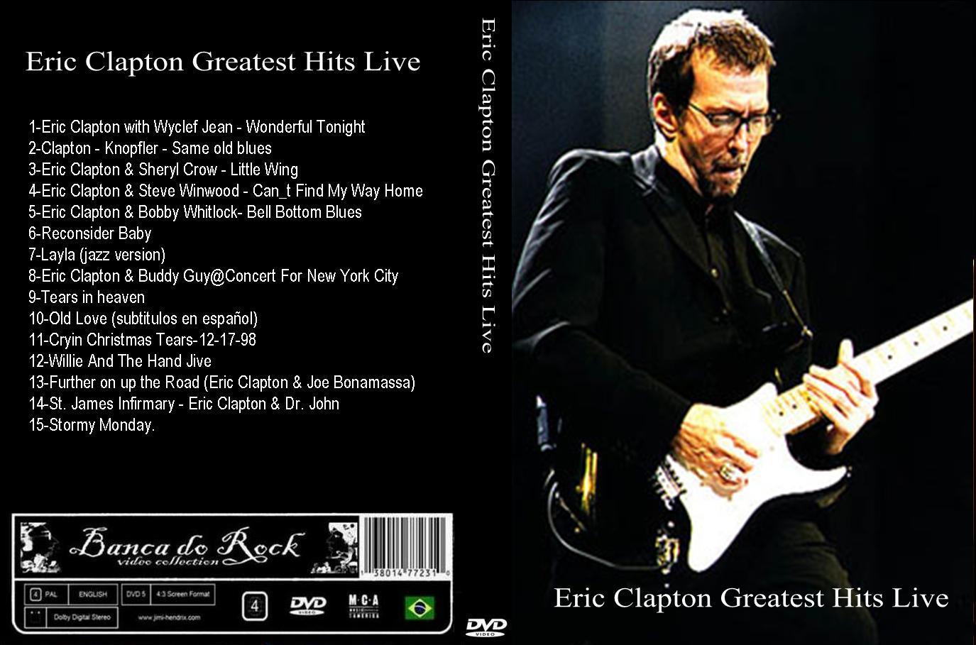 banca do rock rock concert dvd 1060 dvd eric clapton bootleg. Black Bedroom Furniture Sets. Home Design Ideas