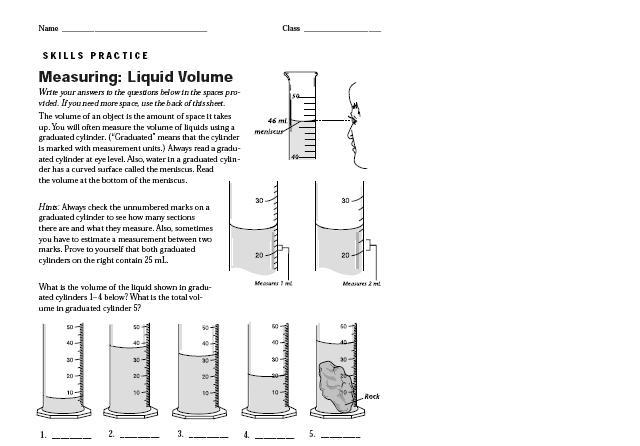 Printables Reading A Graduated Cylinder Worksheet reading meniscus graduated cylinder all about movies wallpaper volume worksheet