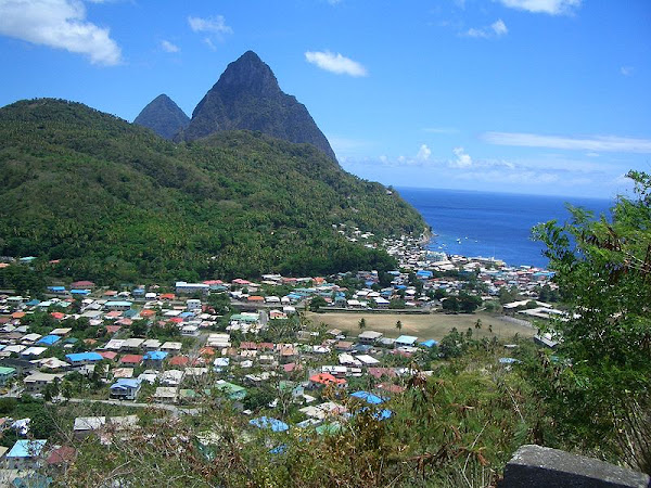 Images of the Impact of Hurricane Omar on Soufriere, St.Lucia