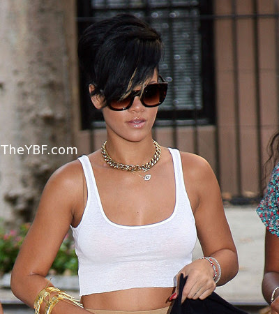 Celebrity Style: Rihanna & Cassie: Crop Tops