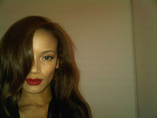 Selita Ebanks Loves Stila Long Wear Liquid Lip Color in Fiery