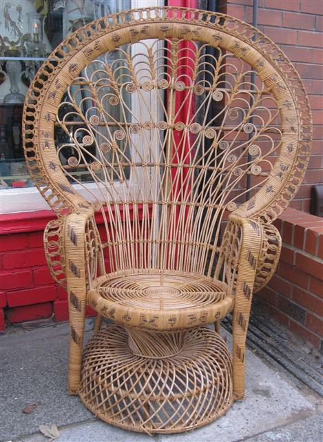 Purchase Worthy Hunting A Peacock Chair
