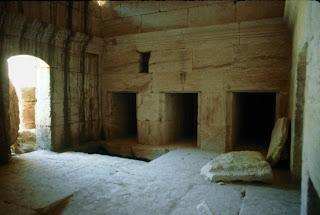 Interior of Above-ground Tombs in Israel