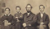 James and Ellen White with their children