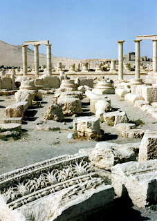'Palmyra in Ruins' by Cherry Brandstater