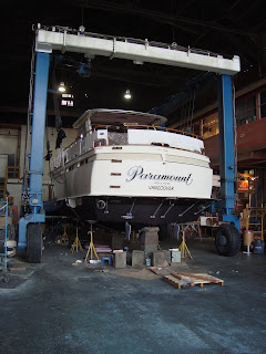 Paramount 47 Chris Craft Commander 1968: The 427 Engines Return!