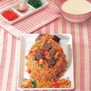 Al Kabsa - Traditional Saudi Rice and Chicken Photos ...