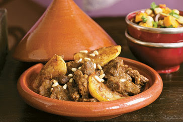 Beef and pear tagine recipe